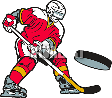 Clip art images free. Hockey clipart