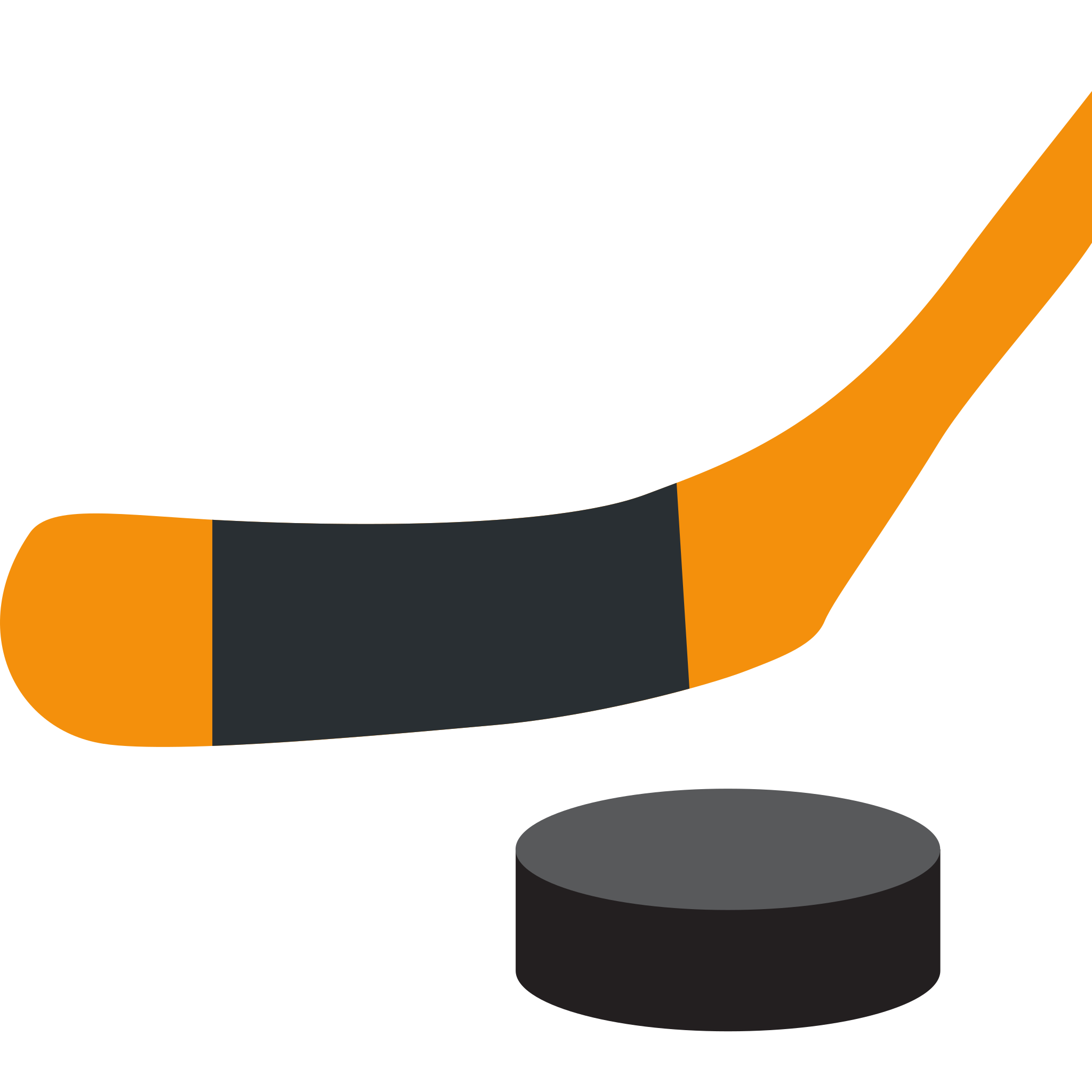 collection of puck. Hockey clipart banner