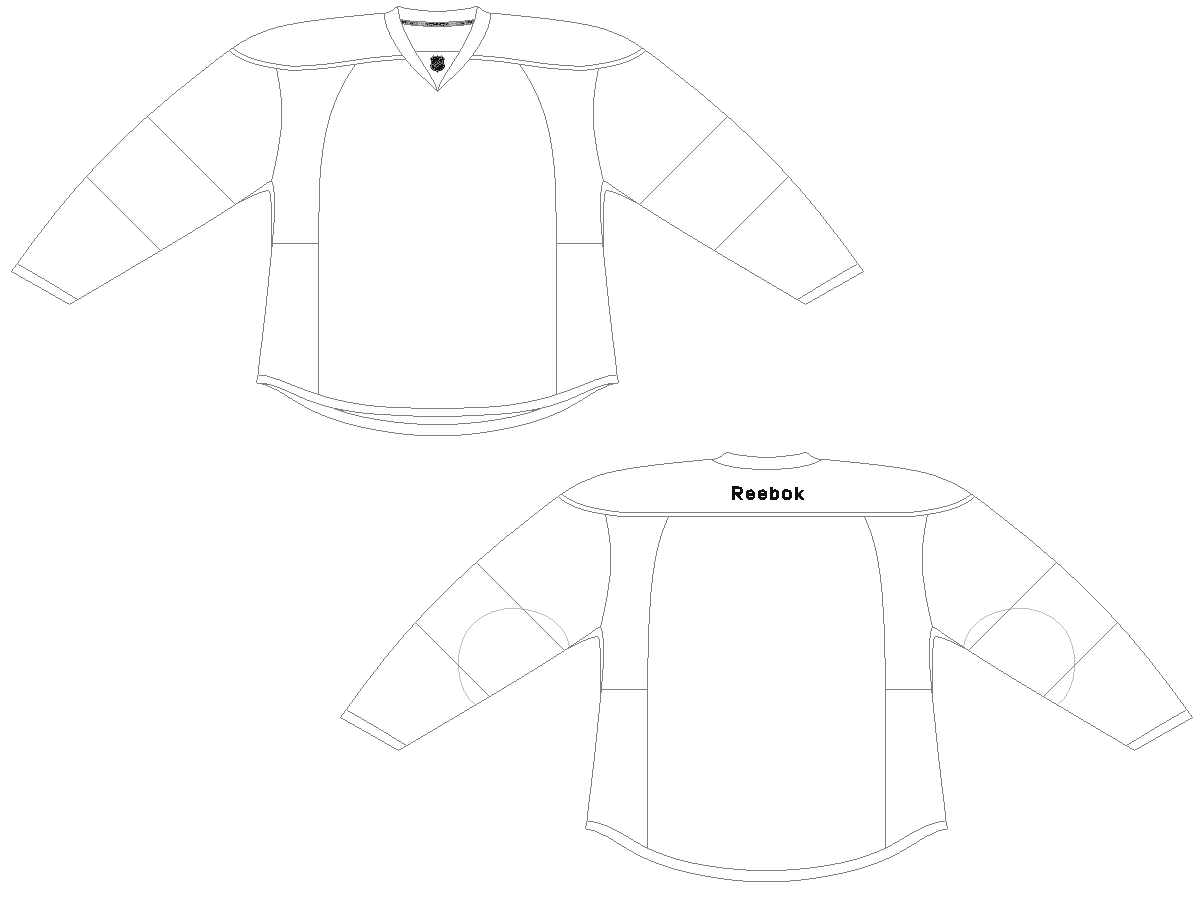 Jersey jersey outline