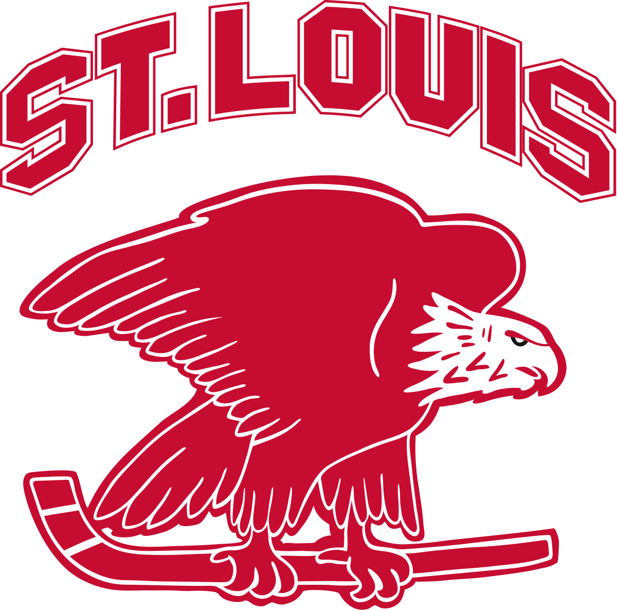 Hockey clipart charlie brown. St louis eagles wikipedia