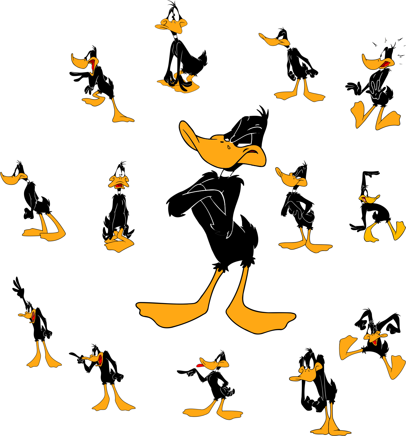 Hockey clipart daffy duck. Looney tunes pinterest