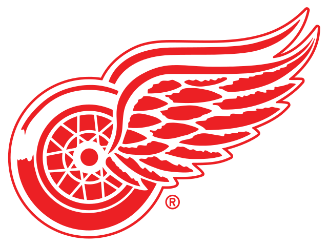 Wing clipart old. Detroit red wings logo