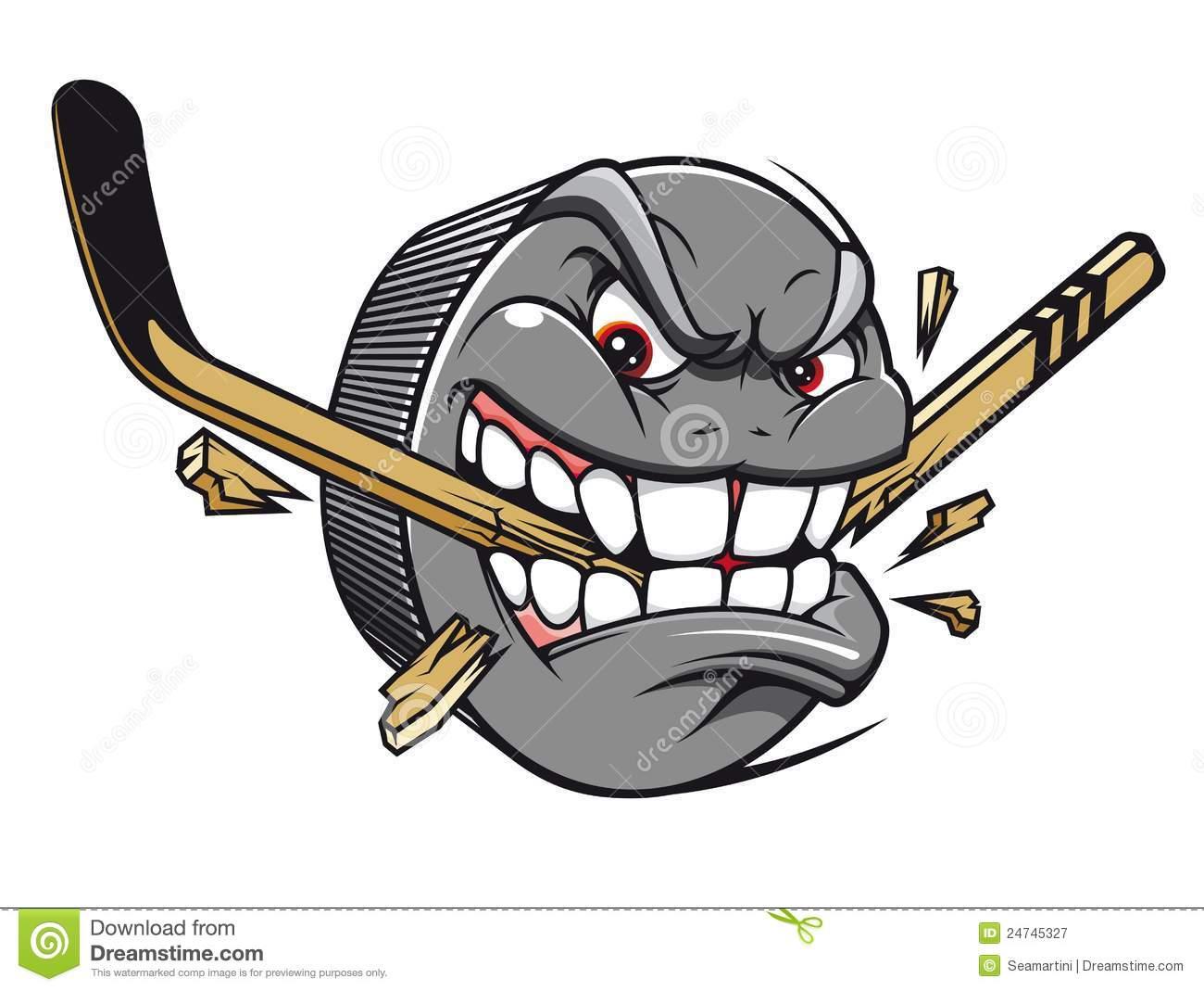 . Hockey clipart fast hockey puck