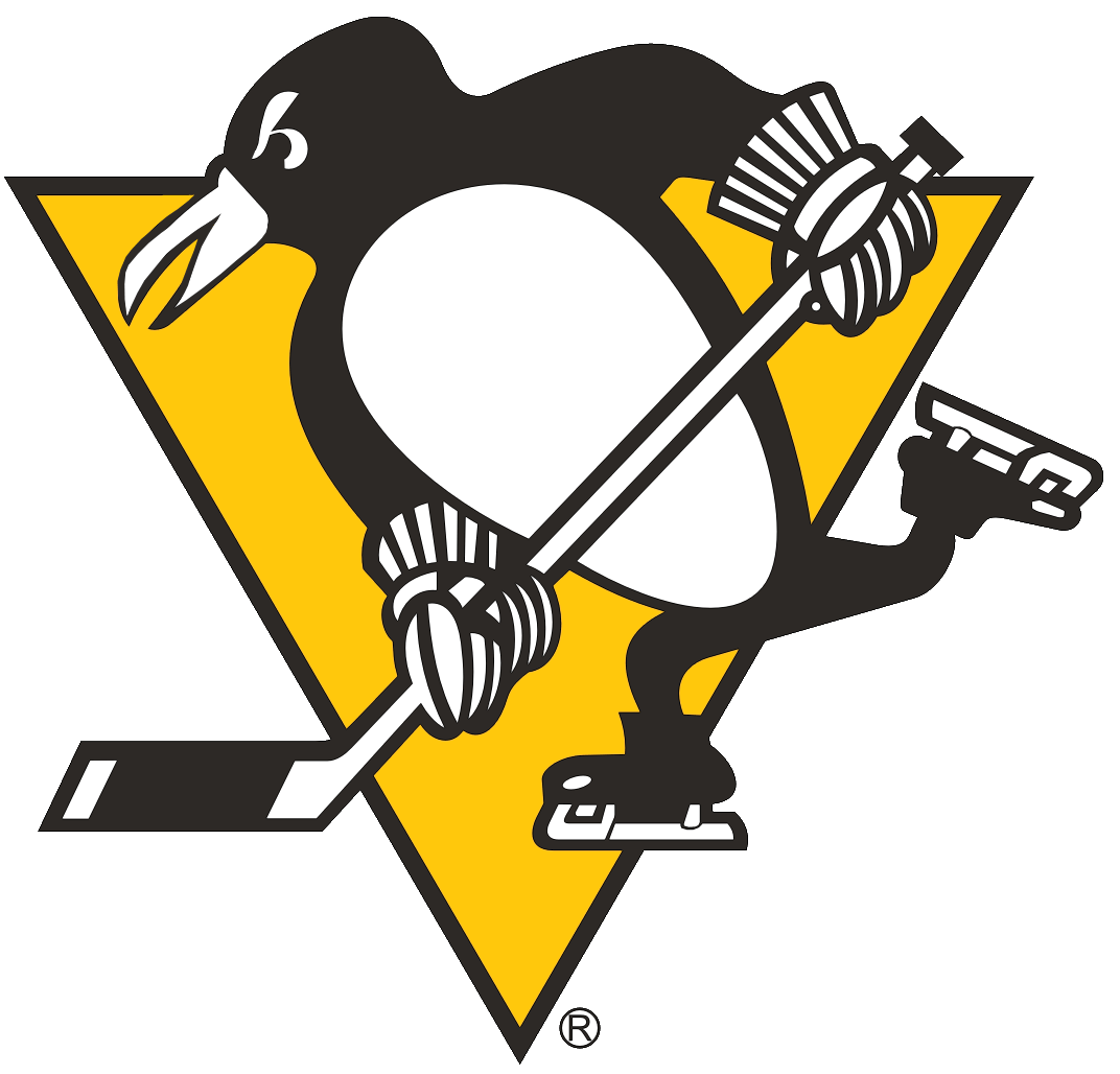Words clipart hockey. Pittsburgh penguins primary logo