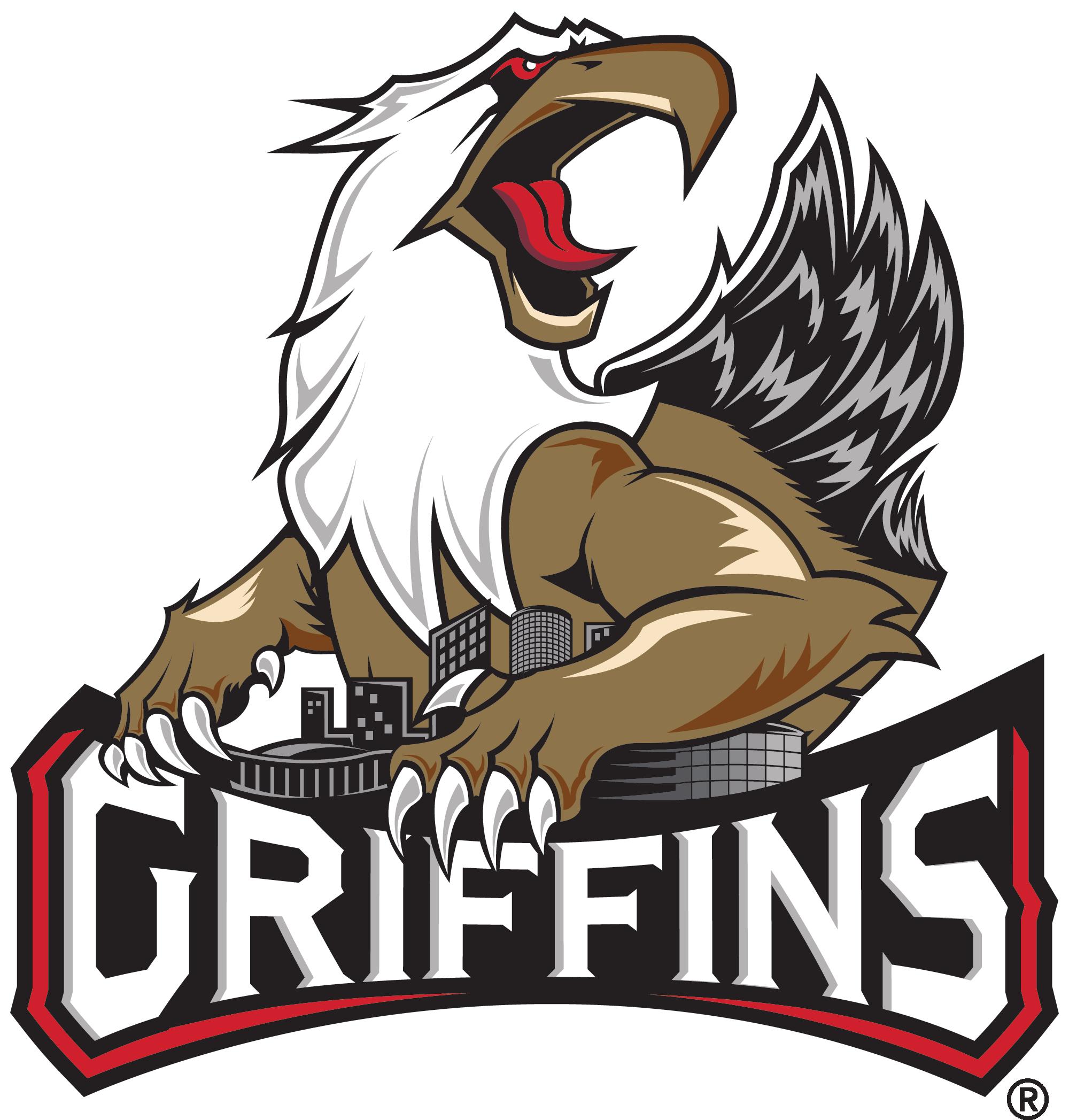 Griffins goaltender jared coreau. Hockey clipart goalie pad
