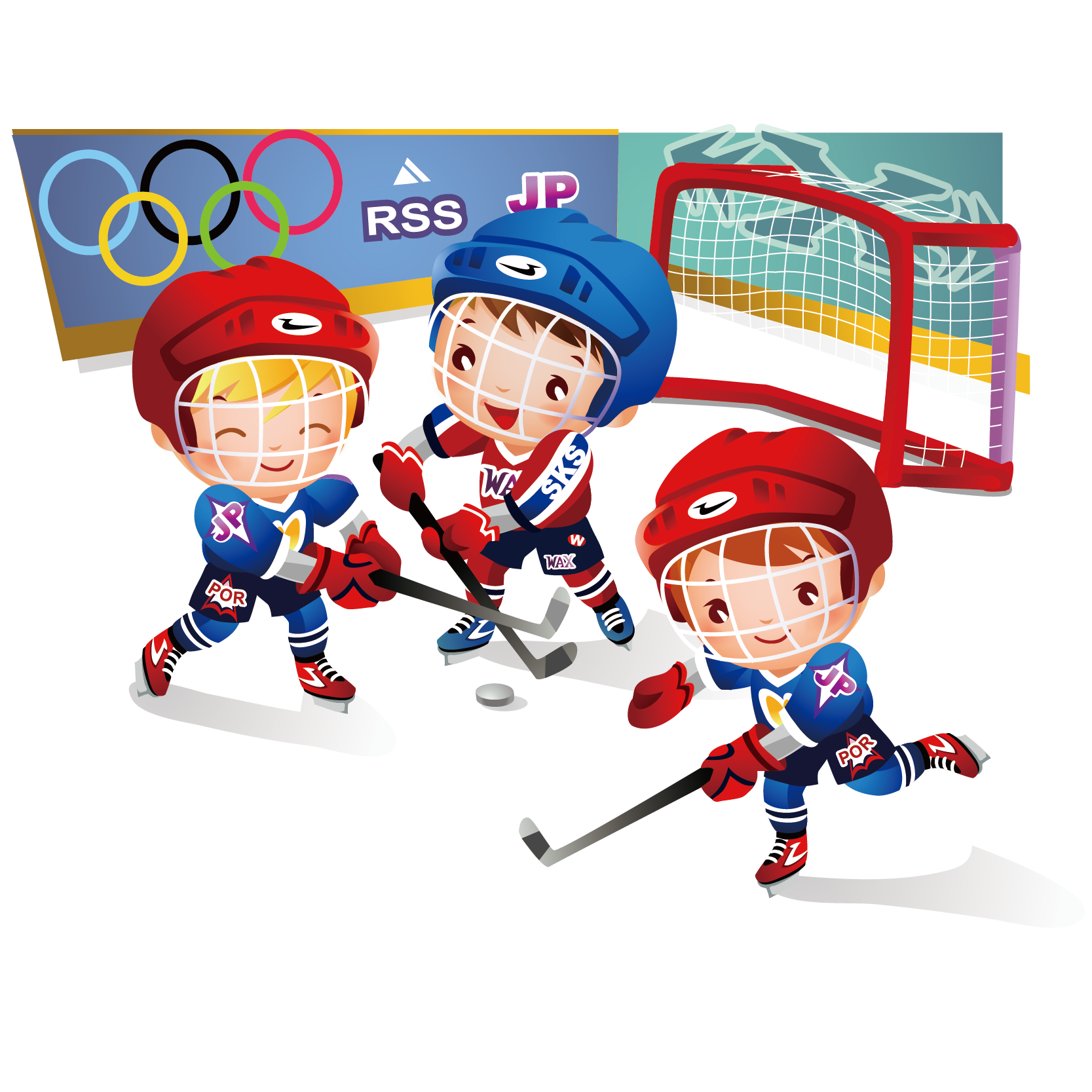 Hockey clipart goalie pad. Ice at getdrawings com