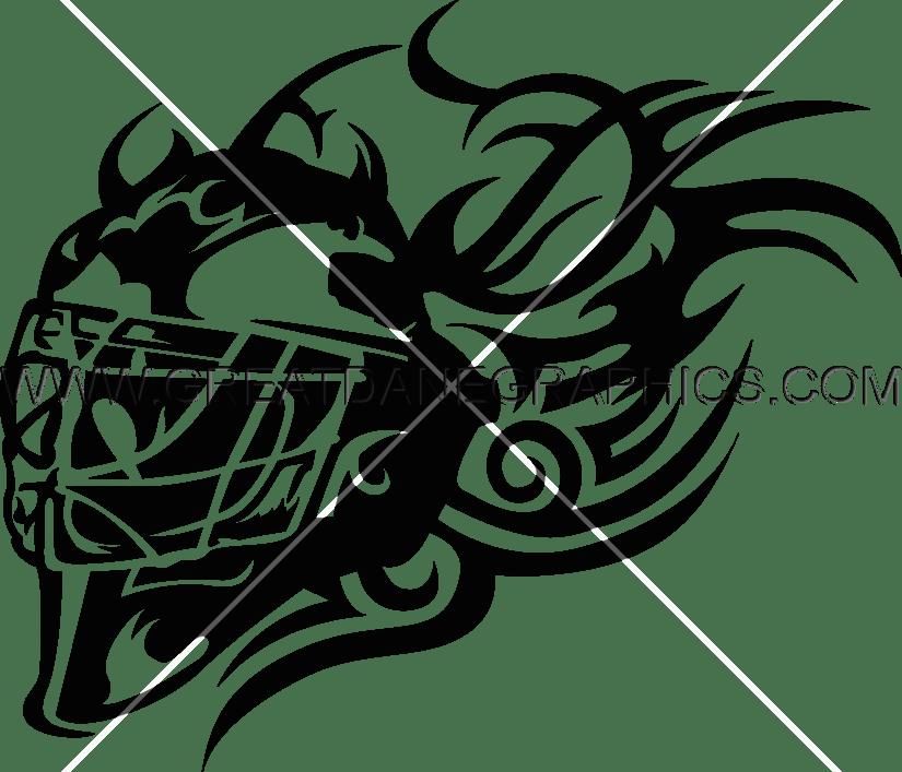 Goalie mask drawing at. Hockey clipart goaltender