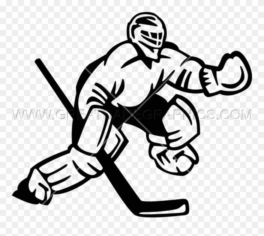 Hockey clipart goaltender. Goalie ice png