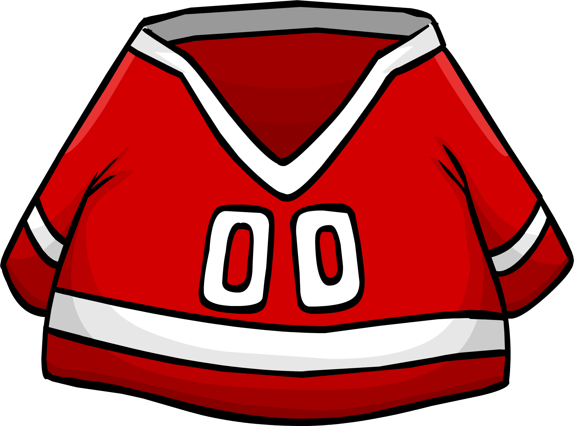 Jersey clipart red jersey. Hockey club penguin wiki