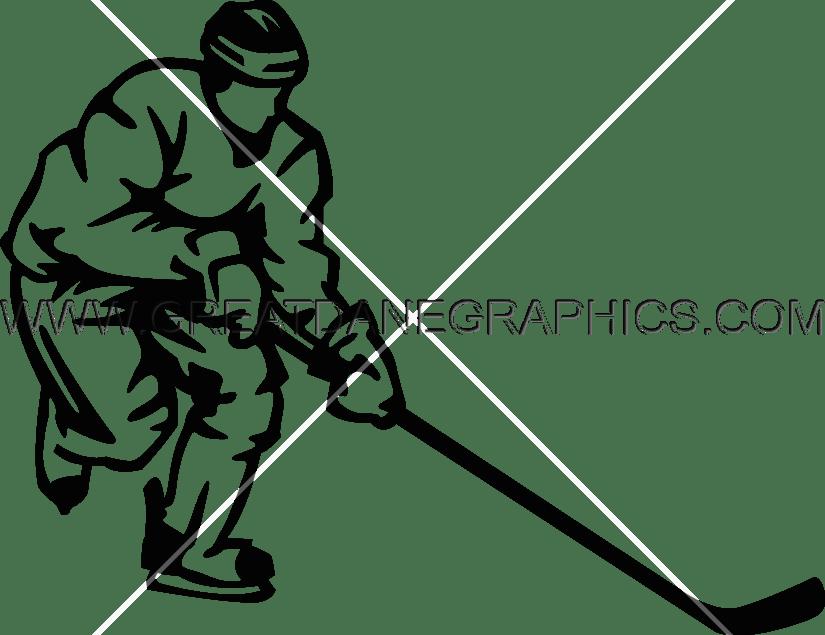 Production ready artwork for. Hockey clipart hockey player