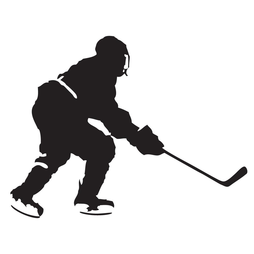 Hockey clipart hockey player. Free download clip art