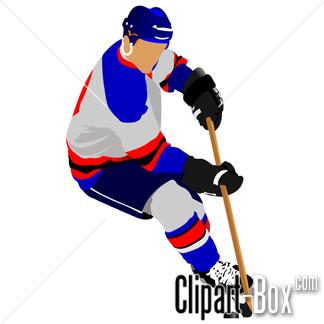 Hockey clipart hockey player. Cliparts players