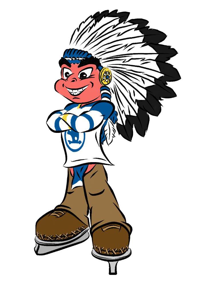 Mascot for ice from. Hockey clipart hockey team