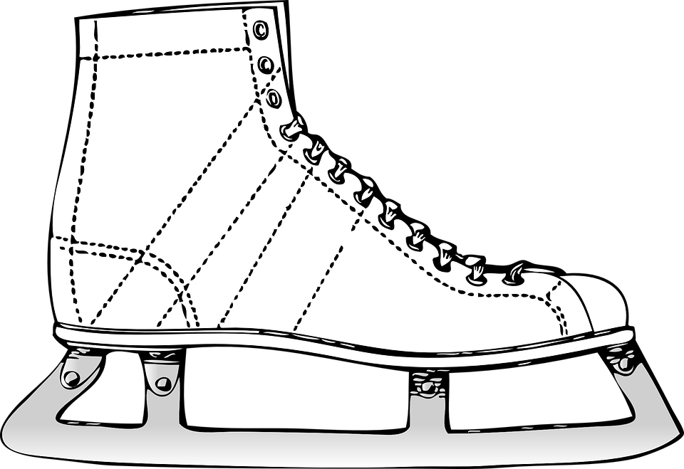 Hockey clipart line art. Free shop of library