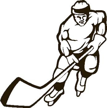 Free ice download clip. Hockey clipart line art