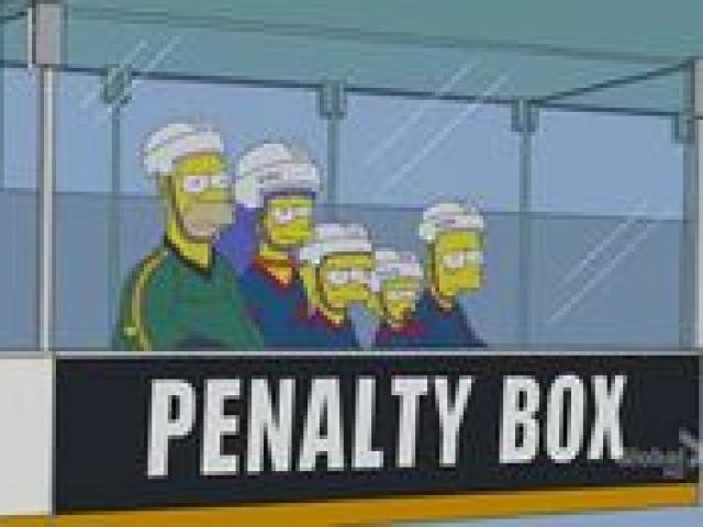 Hockey clipart penalty box. Free nhl player download