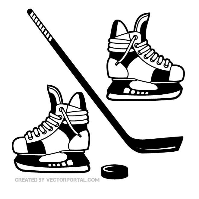Free cliparts skates download. Hockey clipart printable