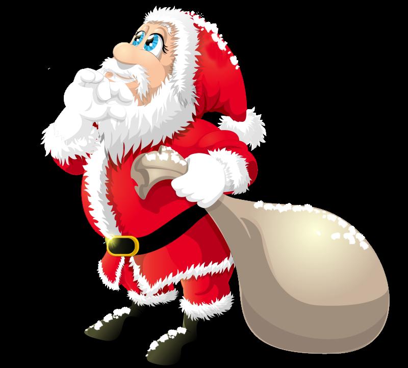 Cartoon Santa Winter Sport Illustration. Santa Claus Hockey Stick.. Royalty  Free Cliparts, Vectors, And Stock Illustration. Image 48857428.