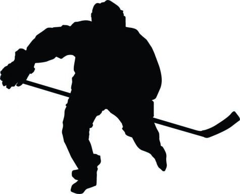 Pin on decorations . Hockey clipart silhouette