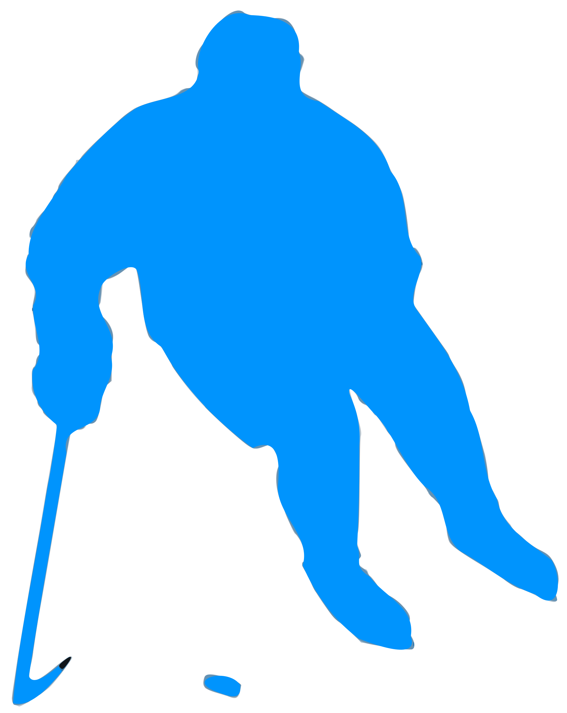Hockey clipart silhouette. Icons png free and
