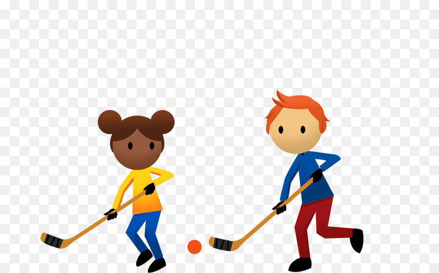 Child cartoon ball transparent. Hockey clipart street hockey