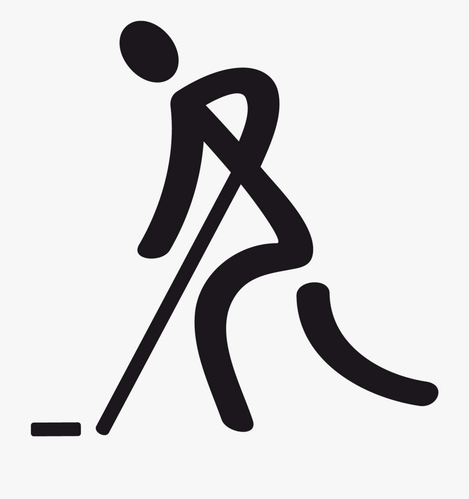 Floor special olympics . Hockey clipart symbol
