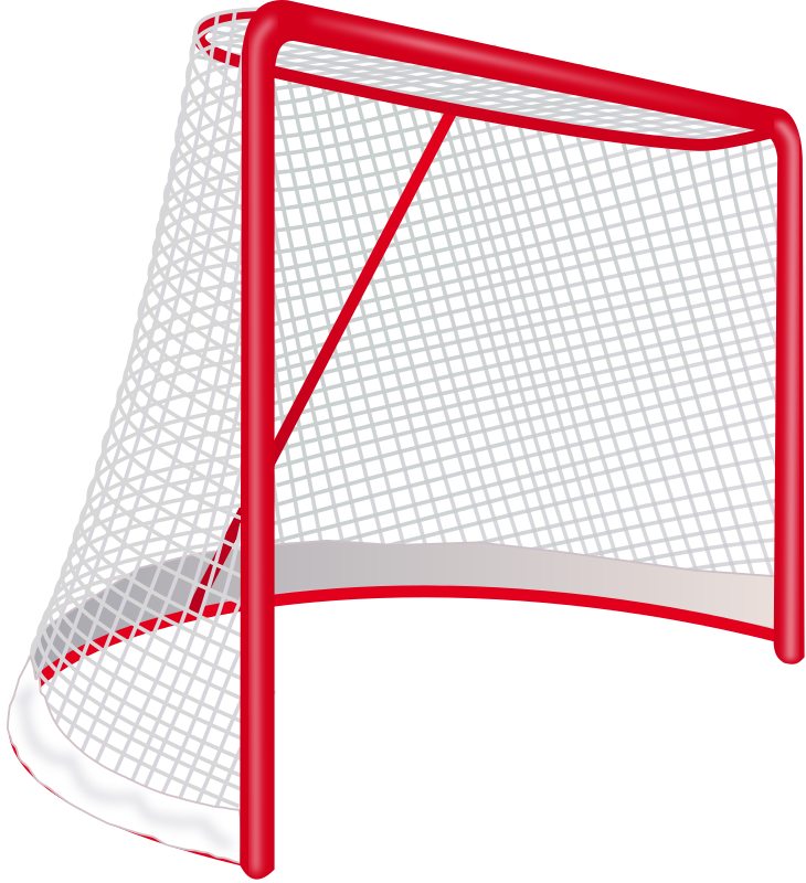 Hockey goal medium image. Net clipart transparent background