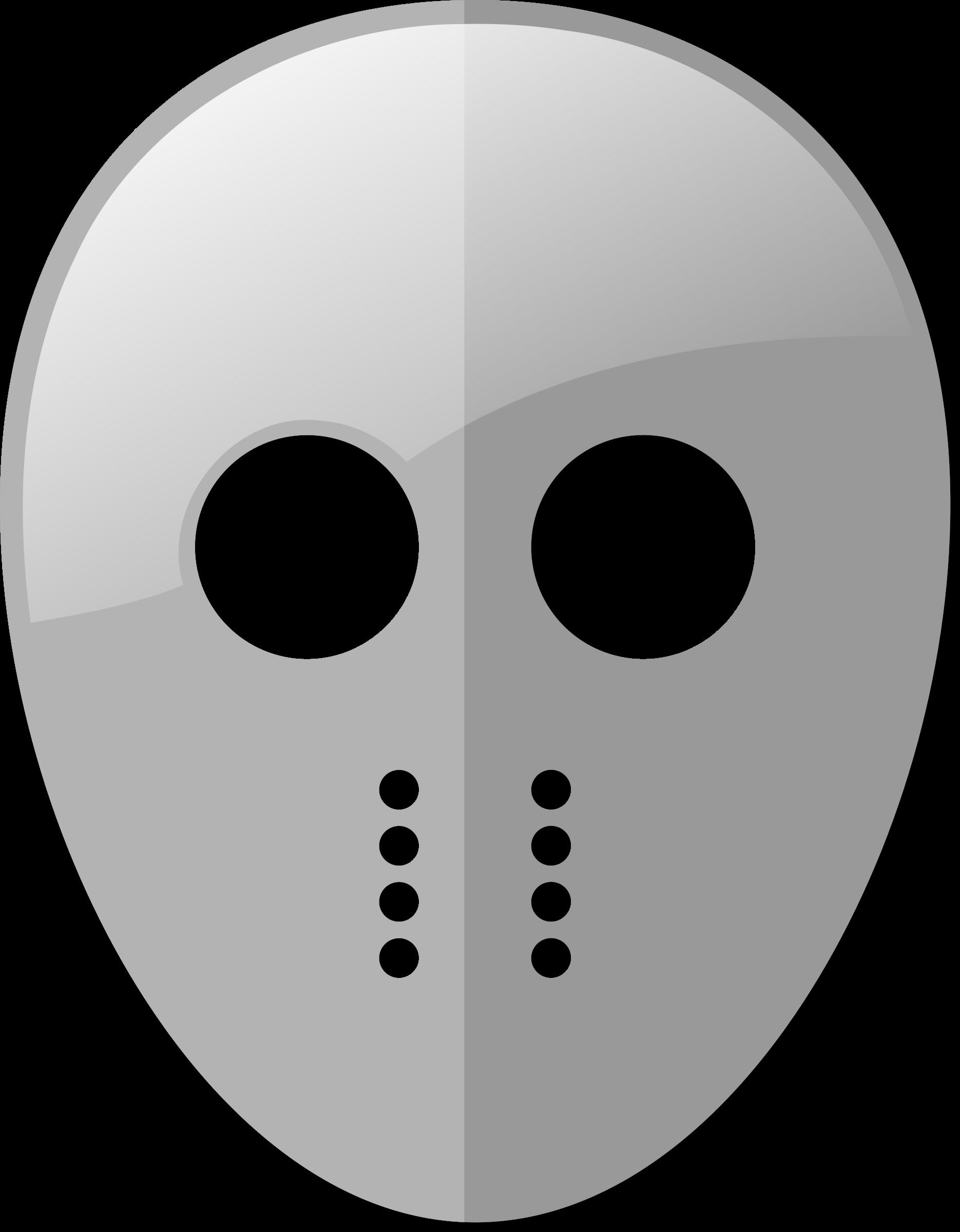 Mask big image png. Hockey clipart vector