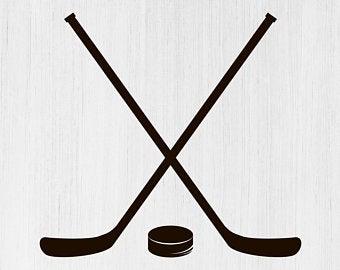 Hockey clipart vector. Etsy