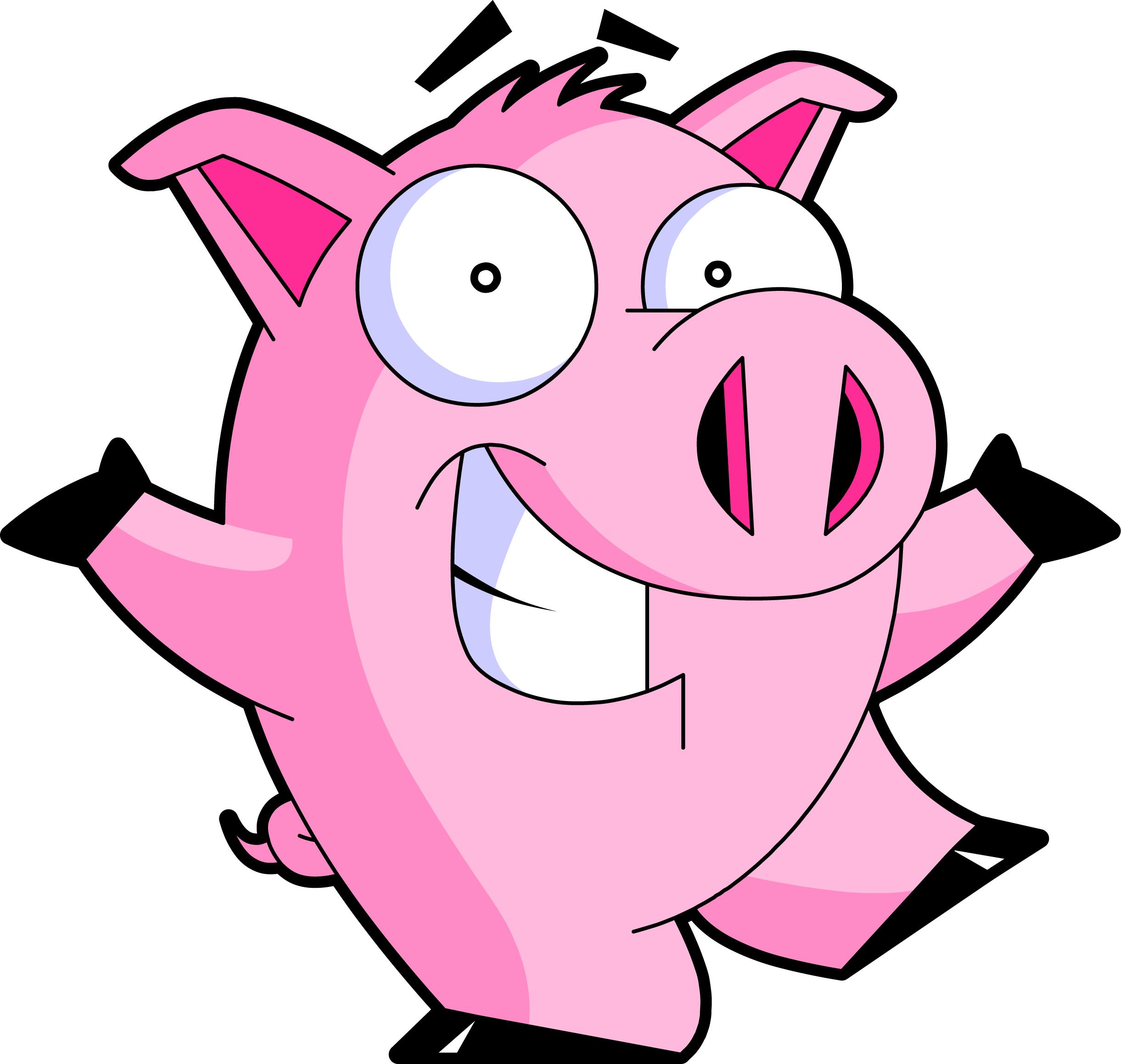 Pig clipart animated. Free pigs pictures download