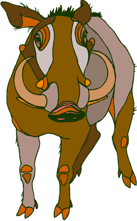 Hungry clipart pet. Free warthog