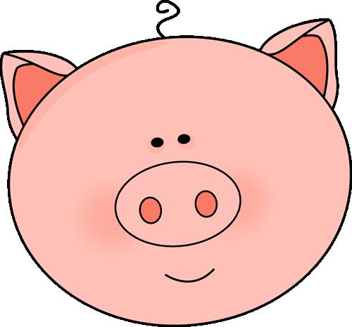 Pig clipart hair. Free cute download clip