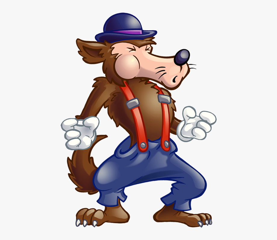 Wolf clipart three little pig. Pigs free