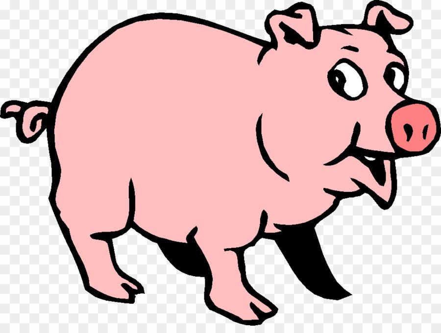 Cartoon pig png wild. Hog clipart pog