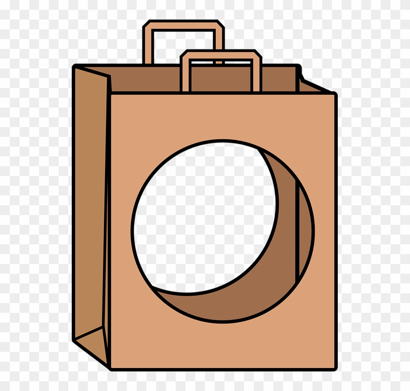 Paper brown hd png. Hole clipart bag