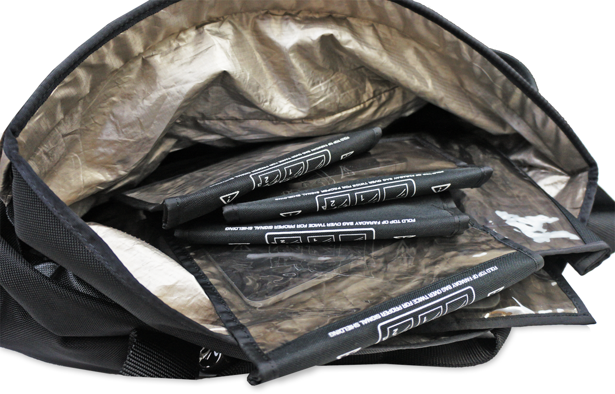 Black Hole Duffel Bag | Teel Technologies