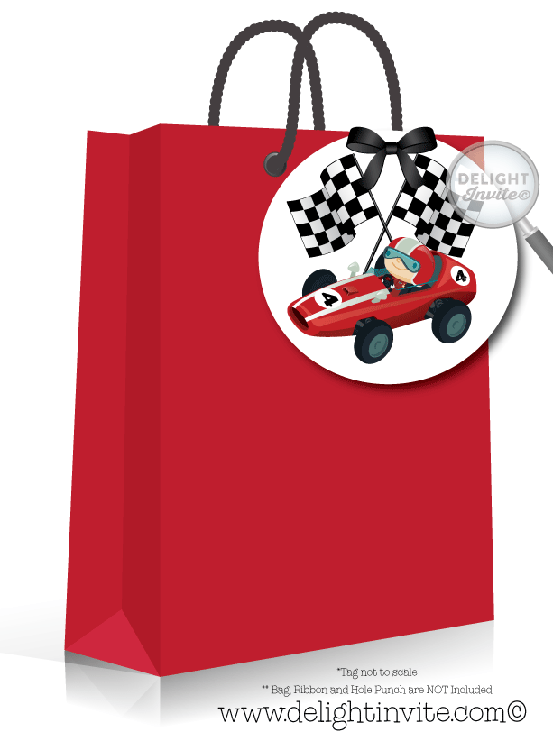 Dragster racer birthday party. Luggage clipart retirement