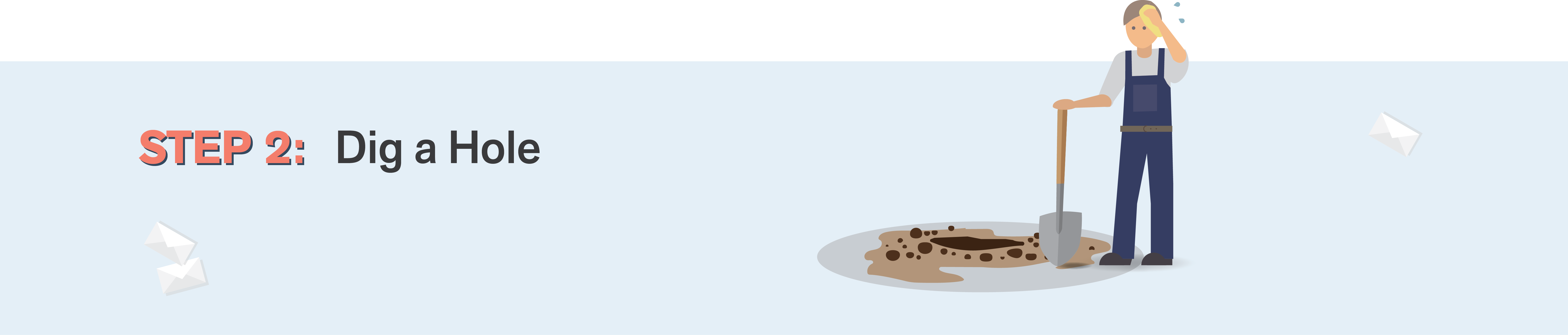 Hole clipart brown ground. How to install a