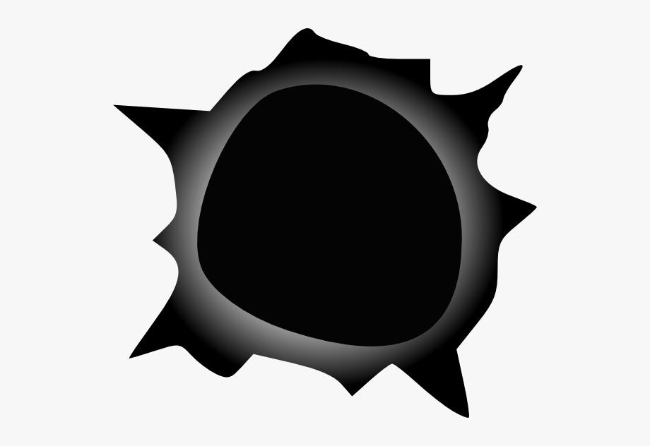Hole clipart clip art. Gradient edge bullet at