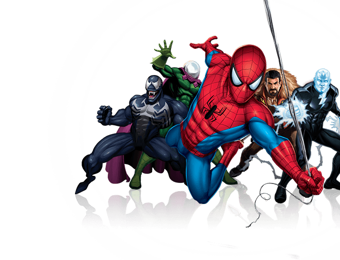 Hole clipart comic. Spider man marvel adventures