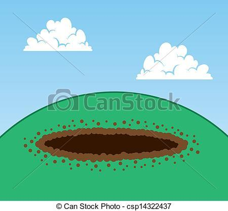 Portal . Hole clipart dirt hole