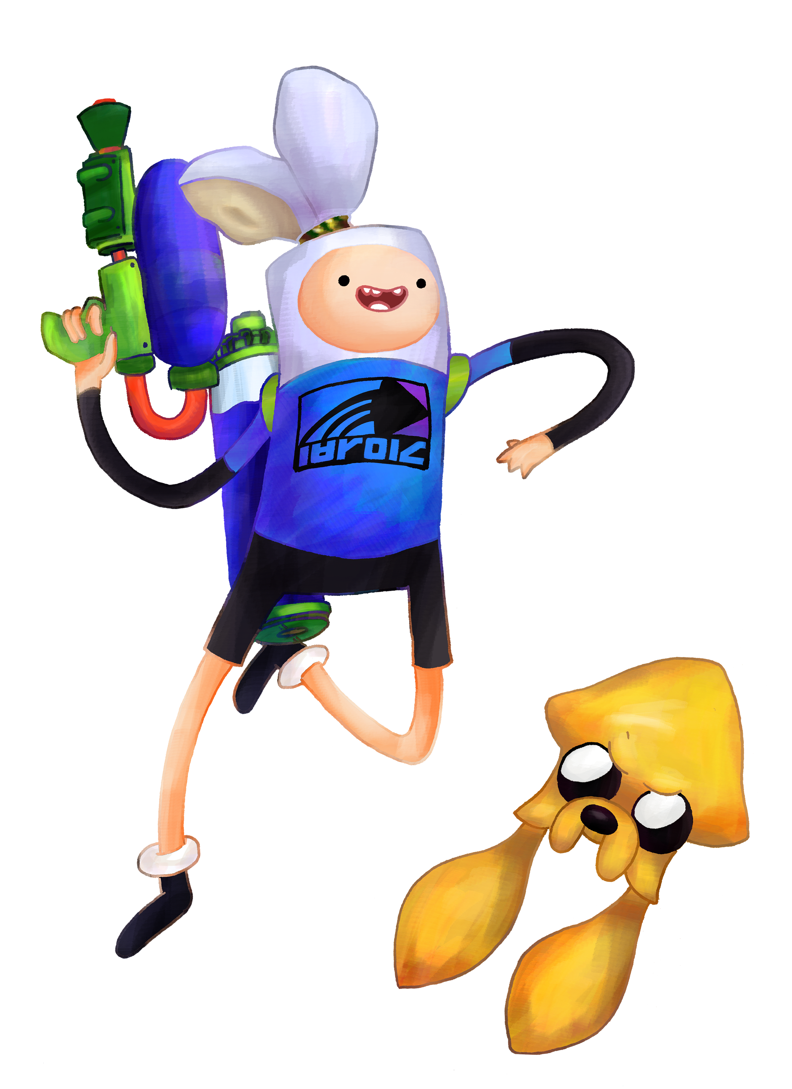 Finn the inkling my. Hole clipart ditch