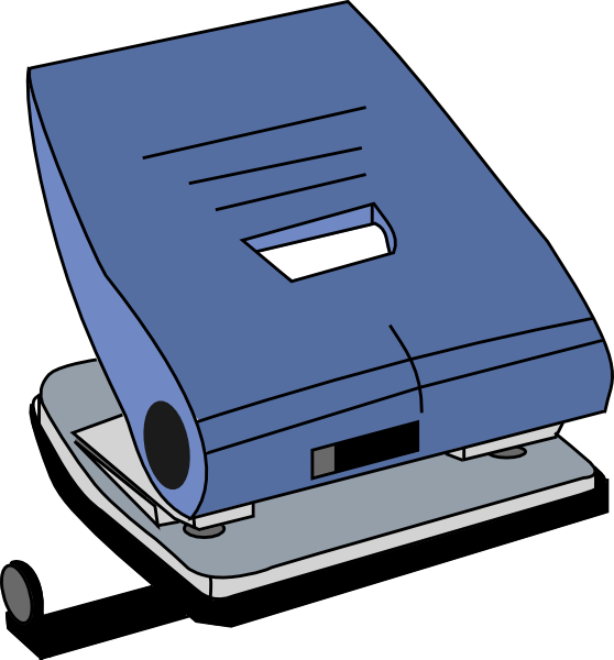 Hole clipart draw. Puncher clip art at