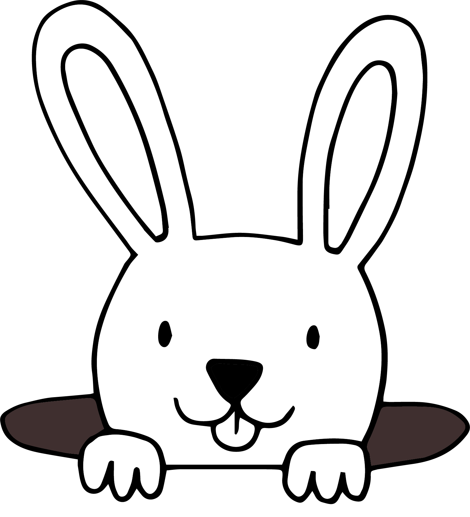 Hole clipart land. Bunny in png picture