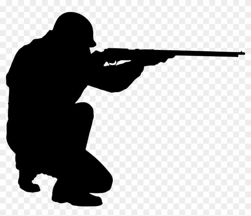 Hole gun wound man. Shot clipart rifle shooting