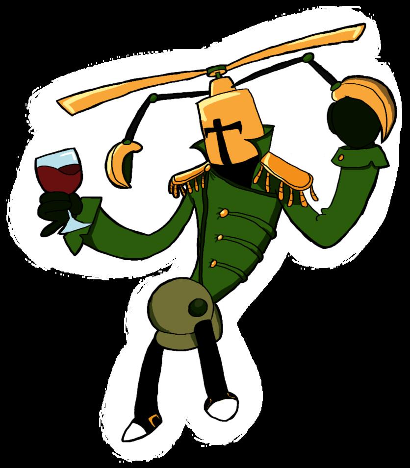 Knight propeller by guuguuguu. Hole clipart shovel