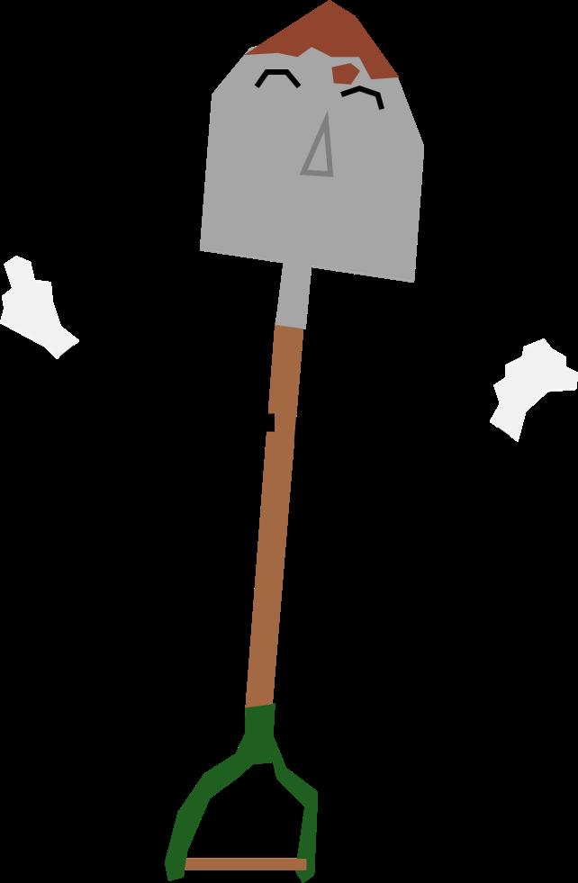 Hole clipart shovel. Dhmis sammy the spade