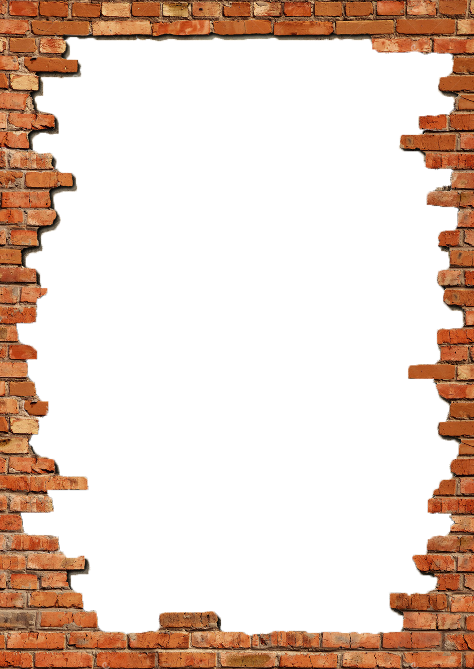 Hole clipart wall png. Brick transparent pictures free