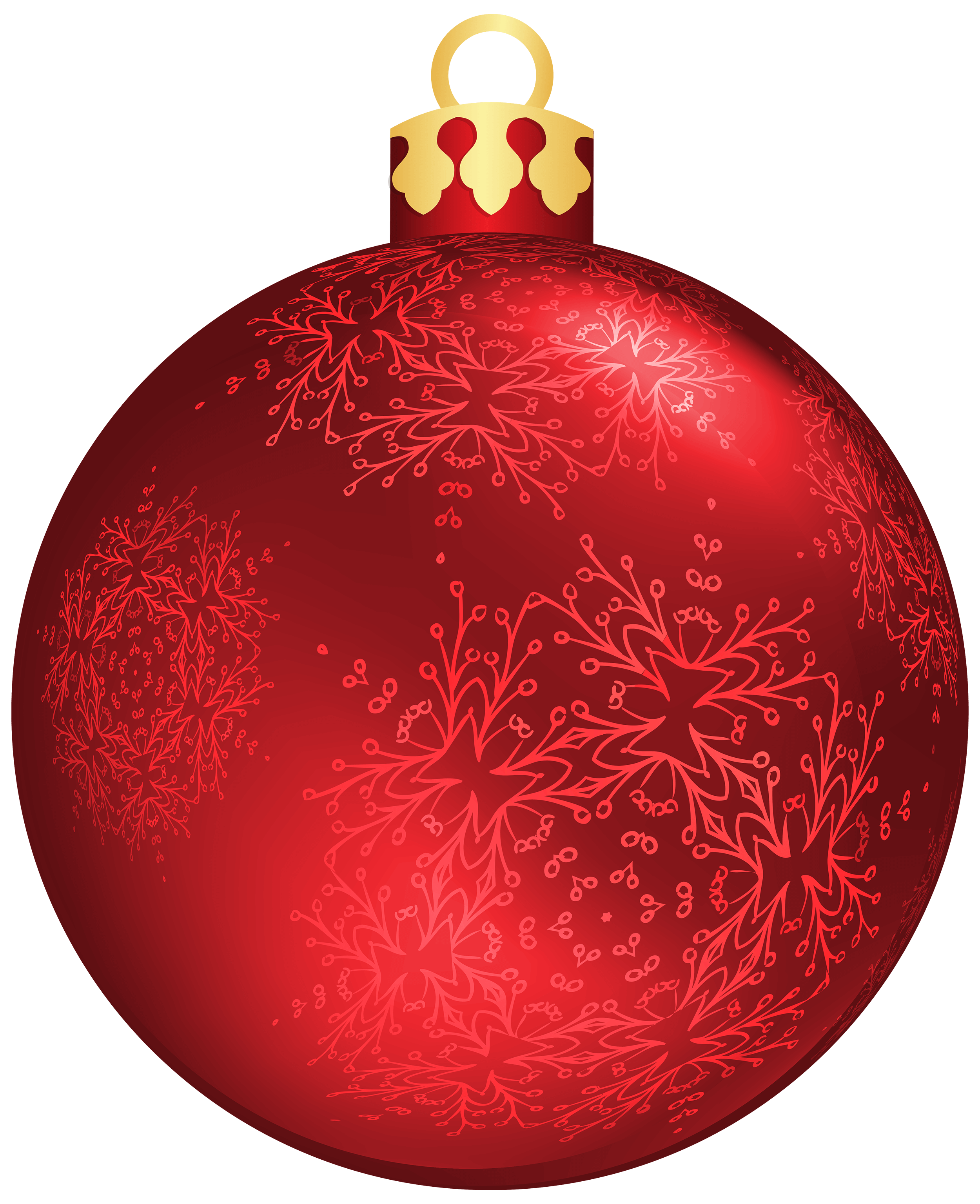 Holiday clipart balls. Red christmas ball png