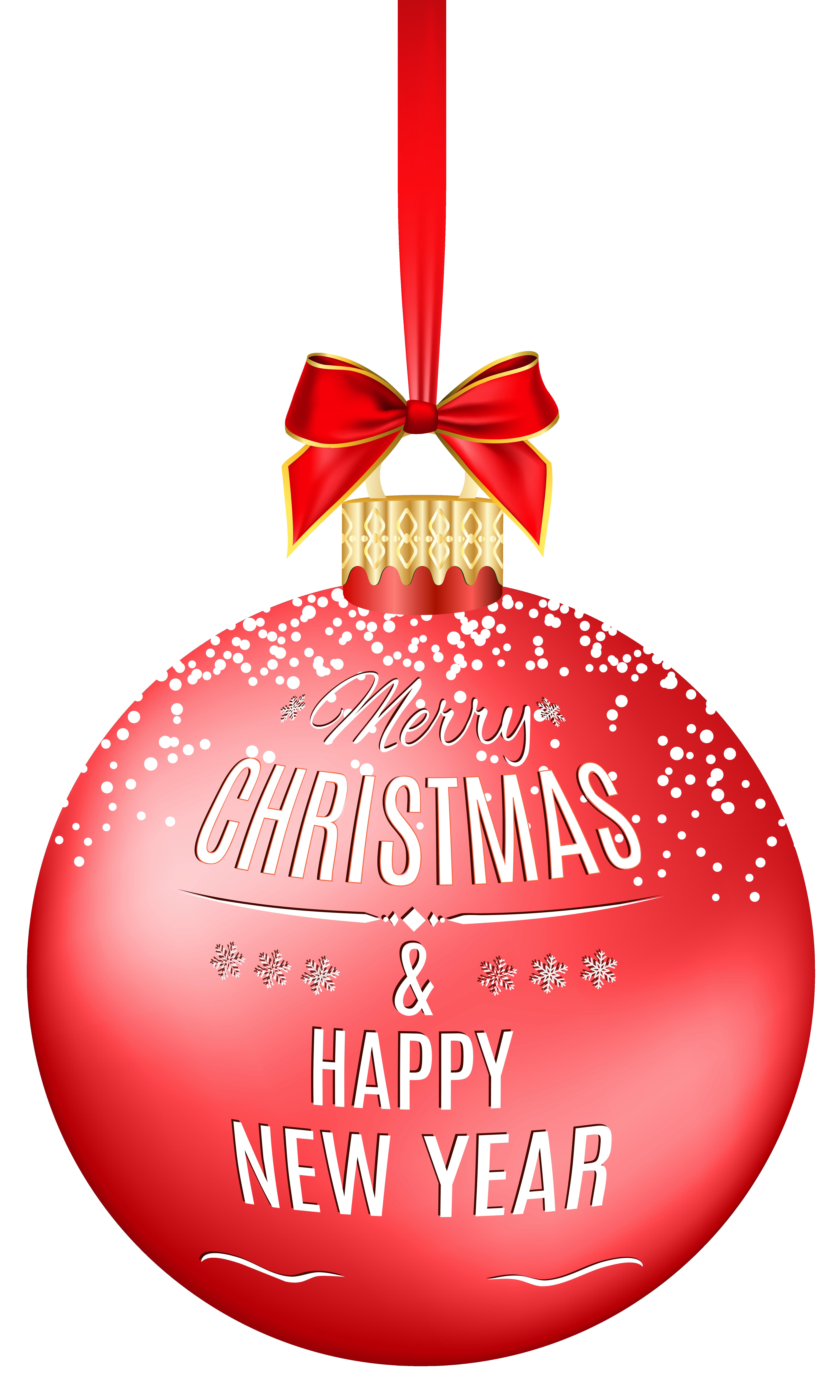 Merry christmas ball transparent. Holiday clipart balls